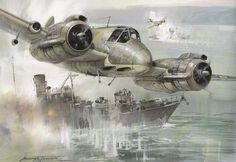 Bristol 156 Beaufighter art by Michael Turner by kitchener.lord, via Flickr
