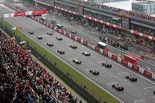 The start of the race. Formula One World Championship, Rd 16, Chinese Grand Prix, Race, Shanghai International Circuit, Shanghai, China, 1 October 2006