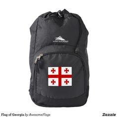 Flag of Georgia Backpack
