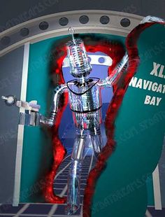 Robert The Robot from Fireball XL5. A children's series from the UK that ran from 1962 to 1963.