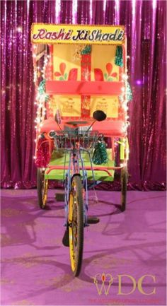 by the wedding design company fun for the mehendi night!