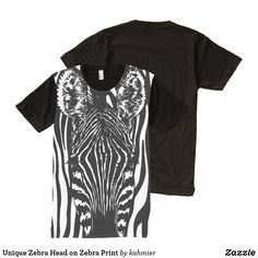 Unique Zebra Head on