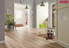 HARO by IBDesign  Laminált padló  #IBDesign #laminált #lamináltpadló #burkolat #melegburkolat #padló #lakberendezés Decor, Furniture, Room, Laminate, Home Decor, Laminate Flooring, Flooring, Room Divider, Divider