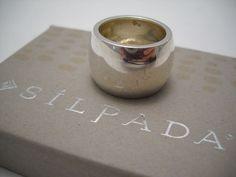 #Designer #SILPADA #SterlingSilver #CigarBand #Band #Ring (R0891) Size 7, EUC! #SilpadaStyle #SilpadaDesigns #Jewelry #Jewellery #FreeShipping Silpada Designs, Cigar Band, Band Rings, Jewellery, Sterling Silver, Tableware, Jewels, Dinnerware, Schmuck