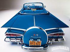 Chevy Fins #chevroletimpala1959 #classiccars1959cadillac