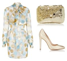 """""""Untitled #114"""" by wallan on Polyvore featuring The 2nd Skin Co., Anndra Neen and Gianvito Rossi"""
