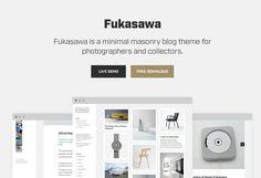Fukasawa Free Responsive Masonry Blog WordPress Theme Freebies Blog CSS CSS3 Free Grid HTML HTML5 Javascript Layout Masonry PHP Resource Responsive Retina Template Theme Web Design Web Development WordPress