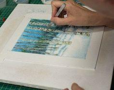 Watching a Glass Artist Create a Frit Painting by Janneybird