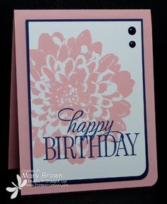 Happy Birthday Dahlia by stampercamper - Cards and Paper Crafts at Splitcoaststampers