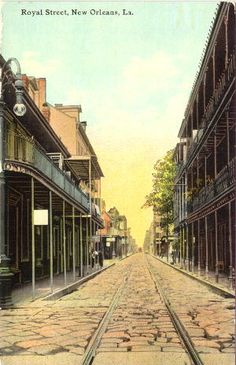 Royal Street, New Orleans by devroshart, via Flickr