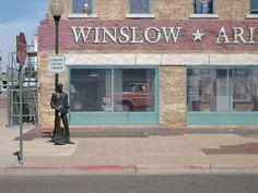 Standin' on the Corner in Winslow.