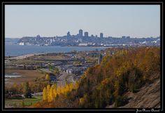 Québec depuis la Chute-Montmorency photo de Jean-Marie Chassot