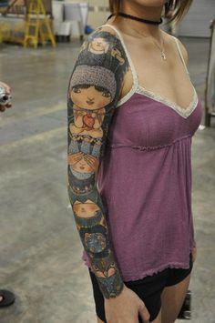 Lovely sleeve