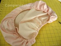 Tutorial : Doll Fitted Sheet for Doll Beds