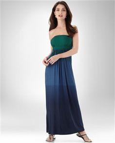 I wonder if an elastic waist stretchy dress would fit me pregnant? Cute dress!