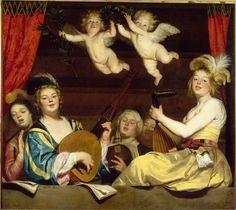 Le Concert, de Gerrit van Honthorst (1624)