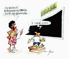 E Viva a Farofa!: Pátria não Educadora
