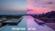 Cómo reemplazar cielos y retocar imágenes en Photoshop | ejeZeta Lightroom, Photoshop, Outdoor Decor, Heavens, Tutorials