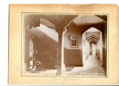 Layton Hill entrance hall date unknown
