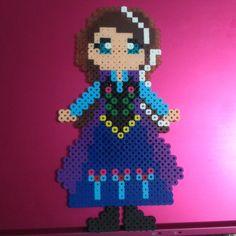 Princess Anna - Frozen hama beads by _carina.dinh