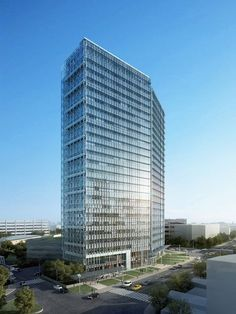 Would Building | RMJM design Vista Center, LEED Platinum Office Building | ArchDaily