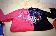 KENZO Kenzo, Sweatshirts, Sweaters, Shopping, Fashion, Trends, Moda, Fashion Styles, Trainers