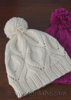 Ravelry: The One Hat pattern by SweaterBabe Knitting Designs, Knitting Projects, Free Knitting, Baby Knitting, Knitting Patterns, Crochet Patterns, Free Knitted Hat Patterns, Cable Knit Hat, Paintbox Yarn