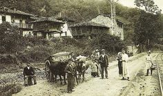 Asturias Spain, Paraiso Natural, Public, Painting, Image, Art, Old Photography, Oviedo, Old Pictures