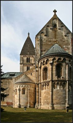 Ják,Hungary -is the most complete Romanesque Architecture Church it was originally built as the church of a Benedictine Monastery built 13th century St George abbey and St Jacab chapel