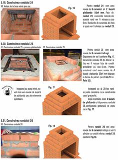 Cum se construieste un gratar din caramida? Outdoor Barbeque, Pizza Oven Outdoor, Bbq Grill Diy, Grilling, Barbacoa, Stone Bbq, Brick Bbq, Minecraft Medieval, Backyard Patio