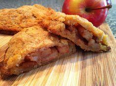 Low Carb - Mini Apple Cinnamon Pies - Low Carb - Mini Apple Pies - 9 grams of carbs Atkins Recipes, Low Carb Recipes, Whole Food Recipes, Ketogenic Recipes, Quick Recipes, Apple Recipes, Ketogenic Diet, Dessert Recipes, Healthy Recipes