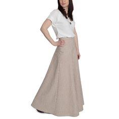 Gabriola Maxi Skirt Pattern from Sewaholic