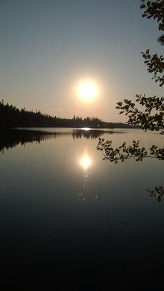 Auringon nousu elokuussa