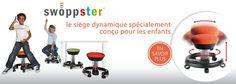 Swopper Shop : chaise, siège de bureau ergonomique et dynamique swopper