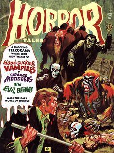 Horror Tales - Vol. 5 #5 (Eerie Publications, 1973)