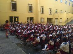 Hoy en la Ciudad Escolar 26 de Julio, los pioneros de #SantiagodeCuba eligen a sus compañeros por sus aptitudes en las aulas. Impresiones de las Elecciones Pioneriles: