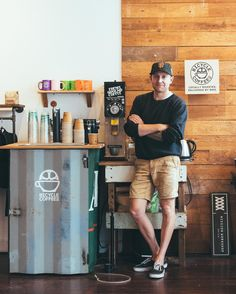 Our main man in SF. Stop by the shop and he'll make you a coffee.