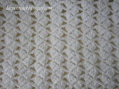 Lacy Crochet: Lacy Braids Baby Blanket  free pattern This pattern is very easy and quick to do.  She has some awesome patterns