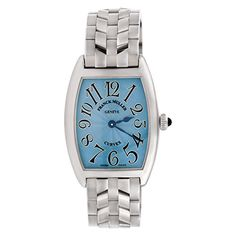 Women's Certified Pre-Owned Watches - Franck Muller Curvex analogquartz blue womens Watch 1752 QZ Certified Preowned >>> You can get additional details at the image link. (This is an Amazon affiliate link)