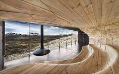 Snøhetta Norwegian Wild Reindeer Centre Pavilion