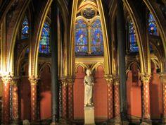 Saint Chapelle #Paris Photo by Carly Carson