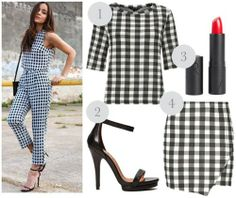 Matching Prints Everyday Outfit