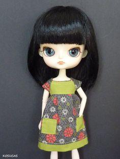 Vestido para muñeca Dal.