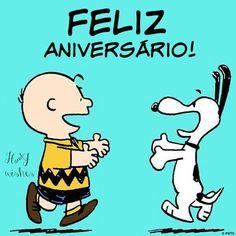 Feliz aniversário Snoopy...