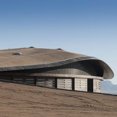Foster + Partners have completed the world's first space terminal for tourists in New Mexico.
