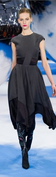 Christian Dior at Paris Fashion Week Fall 2013 - Runway Photos Christian Dior, Dior Dress, Dress Up, Runway Fashion, Fashion Show, Paris Fashion, Women's Fashion, Mode Simple, French Fashion Designers