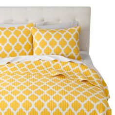 Brights Quilt Set - Yellow i love yellow.. such a happy color!!