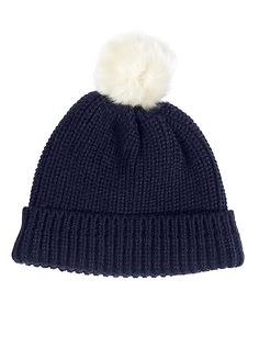 bc3f542622bed French Connection Chunky Knit Bobble Hat - Chunky knit hat