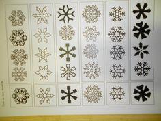 Zoek identiek dezelfde sneeuwvlok Meer ideetjes rond thema winter: *liestr*