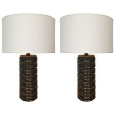 Pair of Swedish Table Lamps, circa 1925   From a unique collection of antique and modern table lamps at https://www.1stdibs.com/furniture/lighting/table-lamps/
